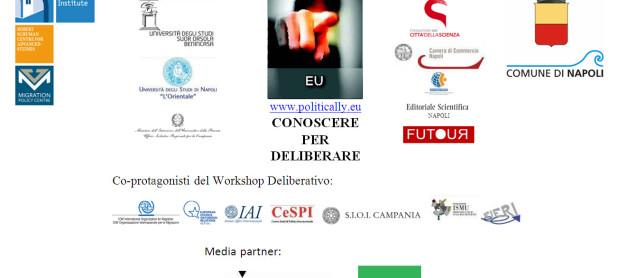 L'Europa e le politiche di migrazione – Dibattito Nazionale – Napoli, 31 marzo 2014